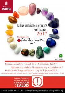 Cartel Talleres Jóvenes 2017