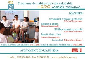 Nuevo cartel jóvenes - programa formativo 2018