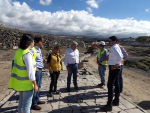 Visita Aurelio Abreu/Pedro Martín Punta Blanca-Noviembre 2016