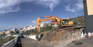 IMG_2865 Inicio obras aparcamiento de Chío