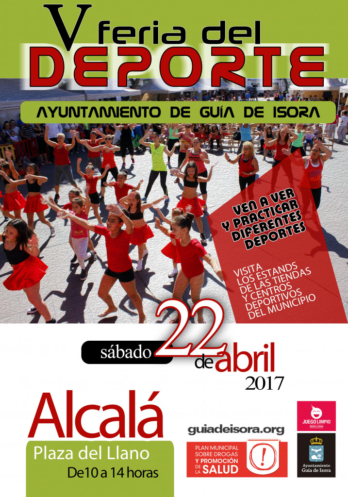 Cartel A3 - Feria del Deporte 2017 (genérico) web