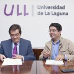 Firma Convenio-Pedro Martín y Antonio Martinón