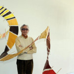 Pepe Dámaso y sus cometas en Playa San Juan-2012