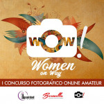 Cartel concurso fotográfico Women on Way