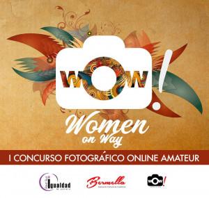 Cartel concurso fotográfico Women on Way