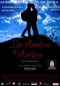 Cartel DE HOMBRE A HOMBRE