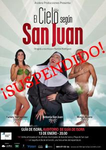 El cielo según San Juan suspendido
