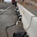 Restos del accidente ramal de Fonsalía