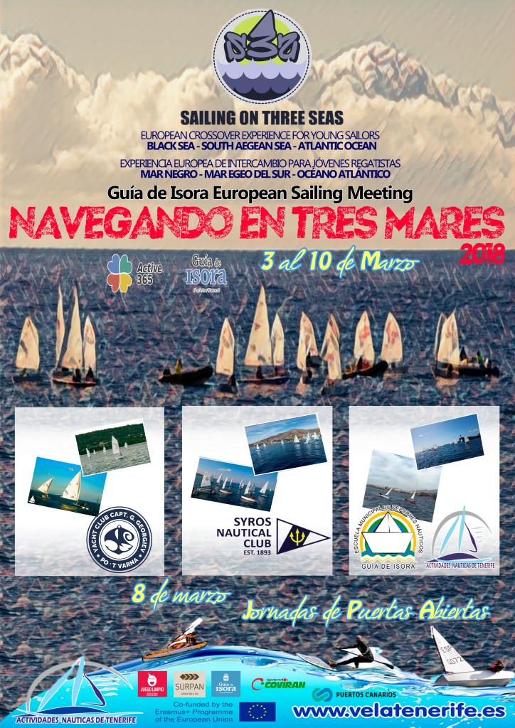 cartel navegando 3 mares