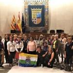 Viaje mujeres isoranas-Parlamento aragonés