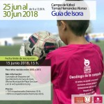 Cartel WAPP - Campus de fútbol Guía de Isora - JC Training 2018