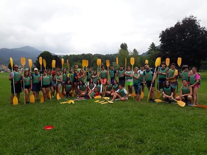 Viaje Joven Asturias, descenso del Sella
