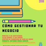 CARTEL PÍLDORA CÓMO GESTIONAR TU NEGOCIO