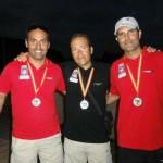 Willi Santos y Cristian Barreto