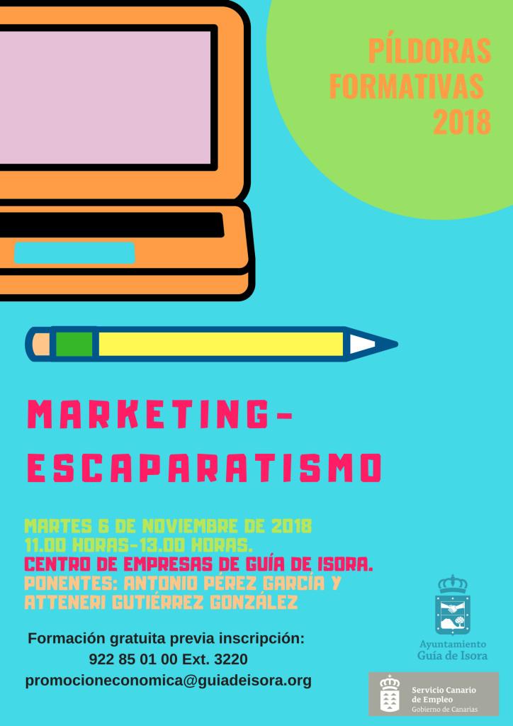 CARTEL MARKETING-ESCAPARATISMO