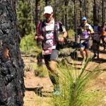 Carrera de Montaña de Guía de Isora - Corredores a su paso por Llano del Negro