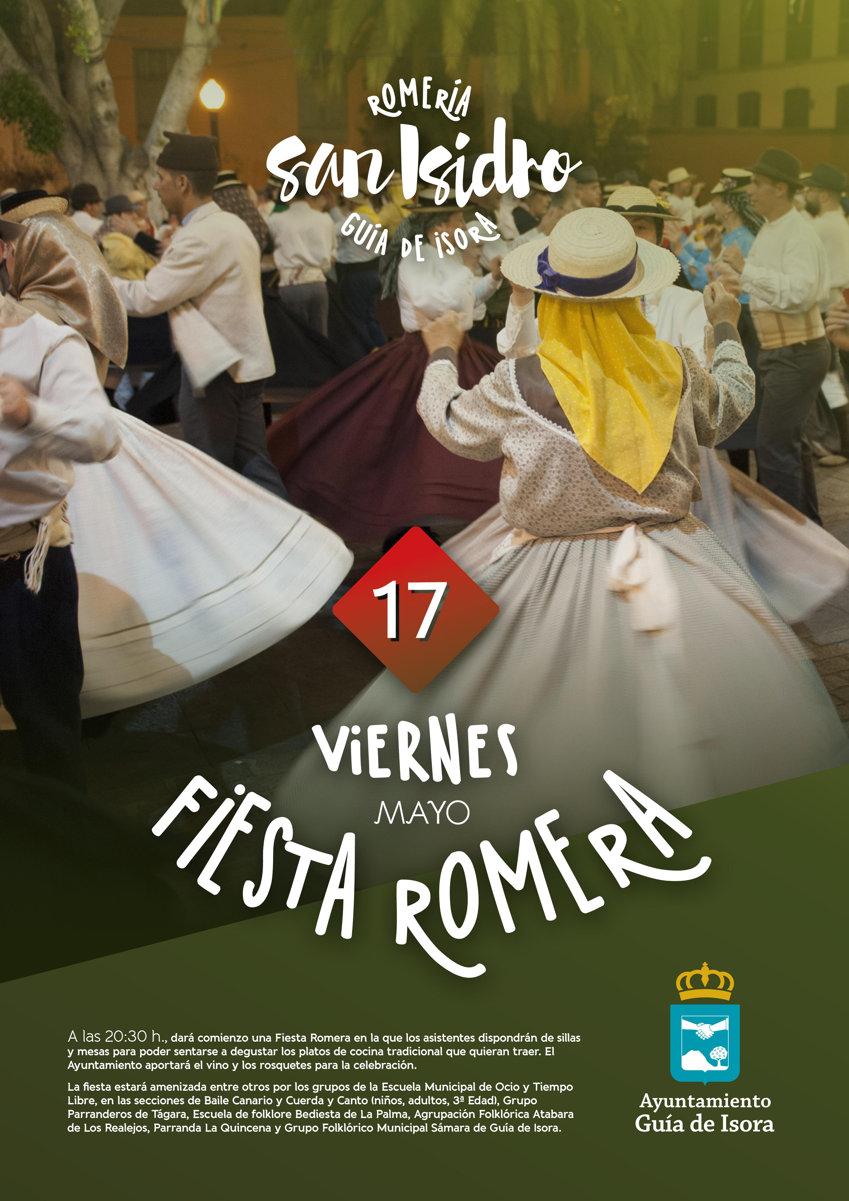 Cartel San Isidro-Fiesta Romera