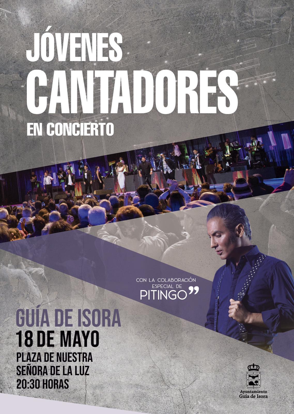 Cartel jóvenes cantadores_Pitingo