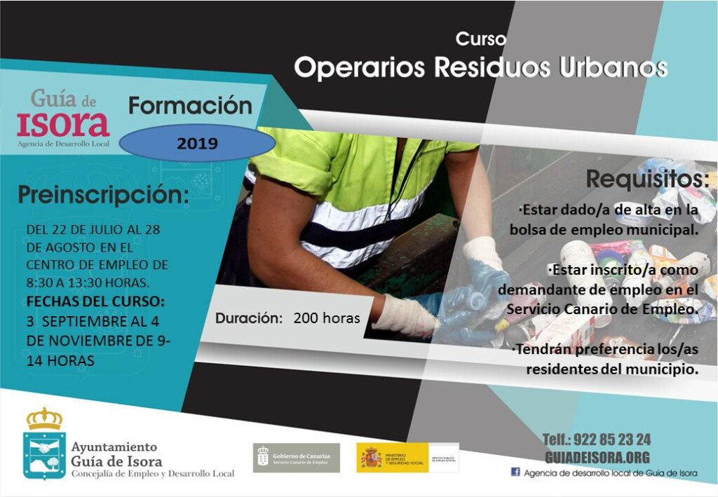 Operarios de resíduos urbanos