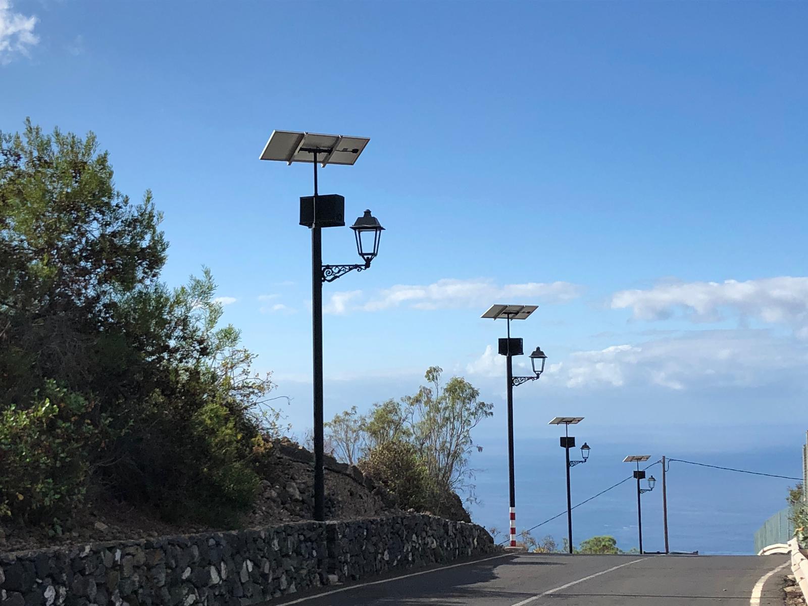 Farolas solares-Chiguergue