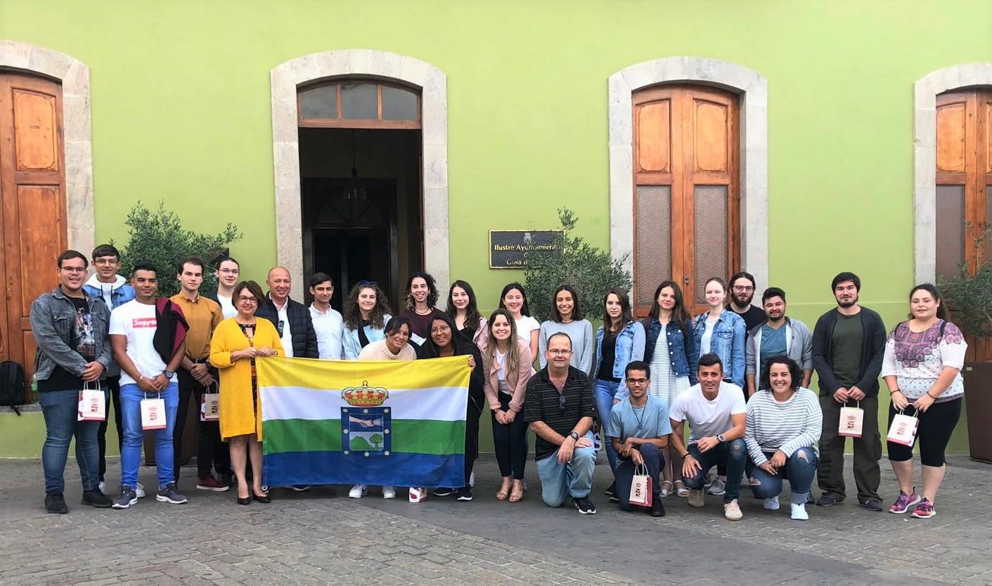 Foto de grupo Erasmus-Josefa Mesa
