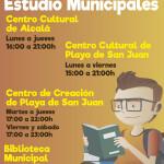 CARTEL_A3_NUEVO_HORARIO_SALAS_ESTUDIOS - (FEB. 2020)
