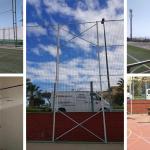 Montaje instalaciones deportivas Guía de Isora