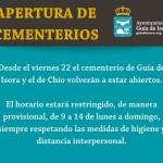 Apertura Cementerios