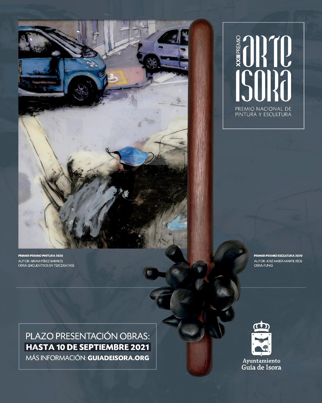 Cartel XXIII Premio Arte Isora