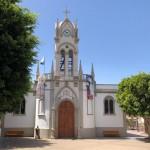 Fachada Iglesia durante las Fiestas Patronales