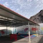 Techado patio Infantil La Cumbrita-Alcalá